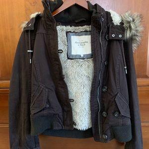 Abercrombie & Fitch fur jacket
